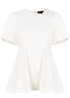 Proenza Schouler structured flared blouse