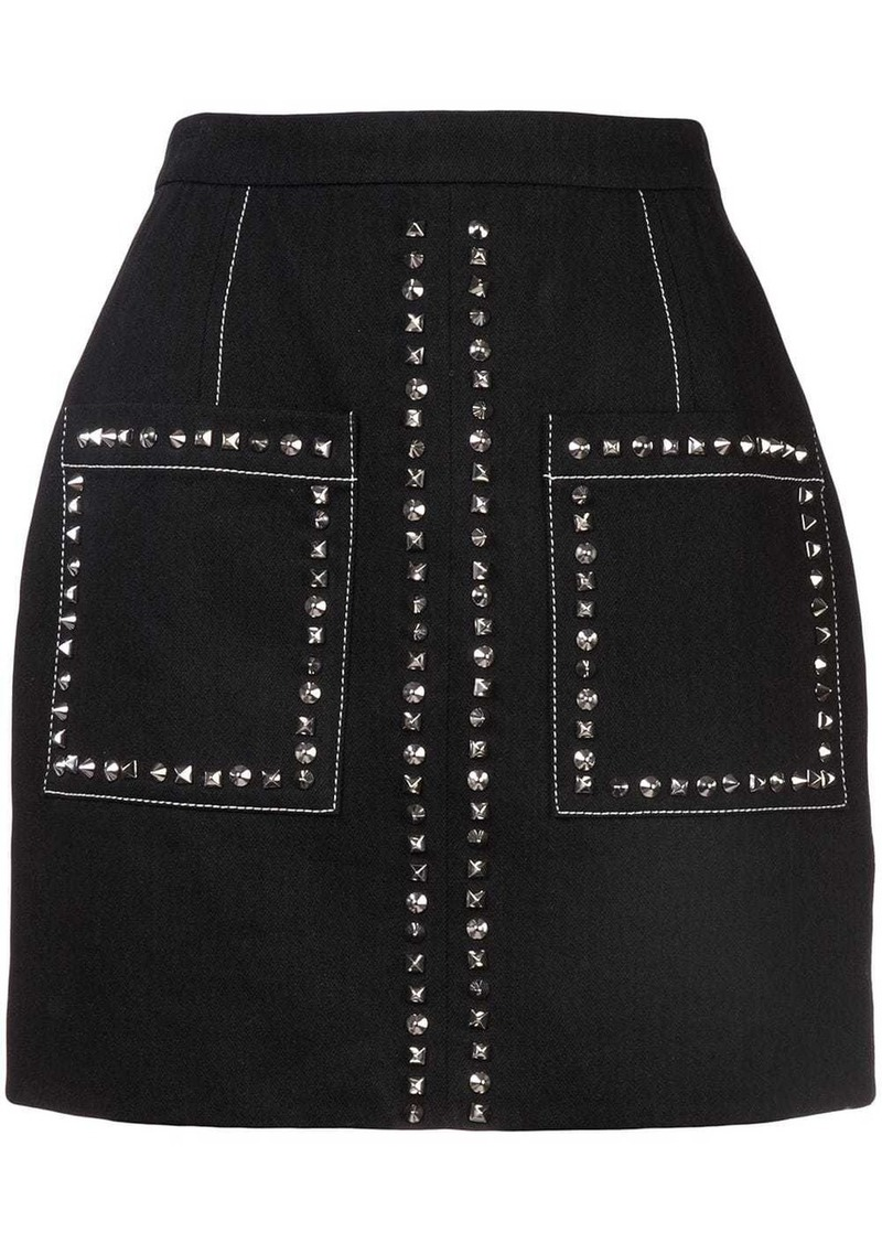 Proenza Schouler Studded Mini Skirt