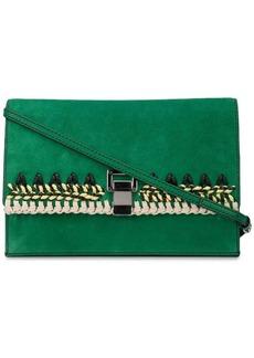 Proenza Schouler Suede Crochet Small Lunch Bag