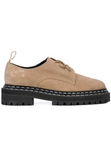 Proenza Schouler Suede Oxfords