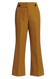 Proenza Schouler Suiting Crop Flare Pants