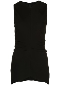 Proenza Schouler Textured Crepe Sleeveless Top