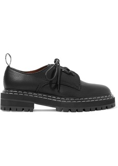 Proenza Schouler Textured-leather Brogues