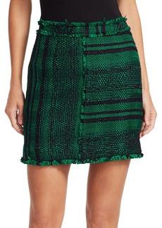 Proenza Schouler Textured Tweed Mini Skirt