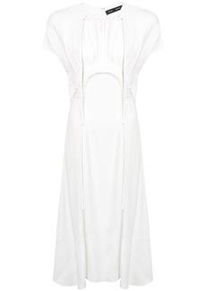Proenza Schouler Tie Detail Long Dress