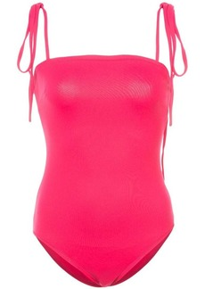 Proenza Schouler Tie Detail One Piece Swimsuit