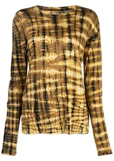 Proenza Schouler Tie Dye Long Sleeve T-Shirt