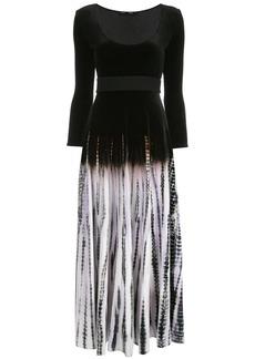 Proenza Schouler tie-dye scoop neck dress