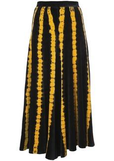 Proenza Schouler Tie Dye Velvet Skirt