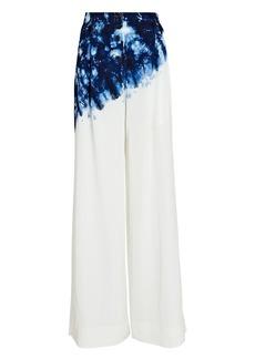 Proenza Schouler Tie-Dye Wide-Leg Trousers