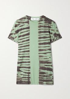 Proenza Schouler Tie-dyed Stretch-cotton Jersey T-shirt