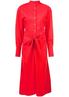 Proenza Schouler Tied Shirt Dress