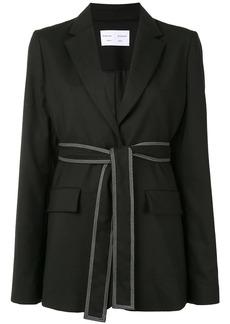 Proenza Schouler tied-waist single-breasted blazer