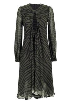 Proenza Schouler Tiger Chiffon Dress