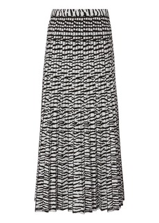 Proenza Schouler Tiger Jacquard Knit Skirt