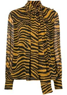 Proenza Schouler Tiger Print Blouse