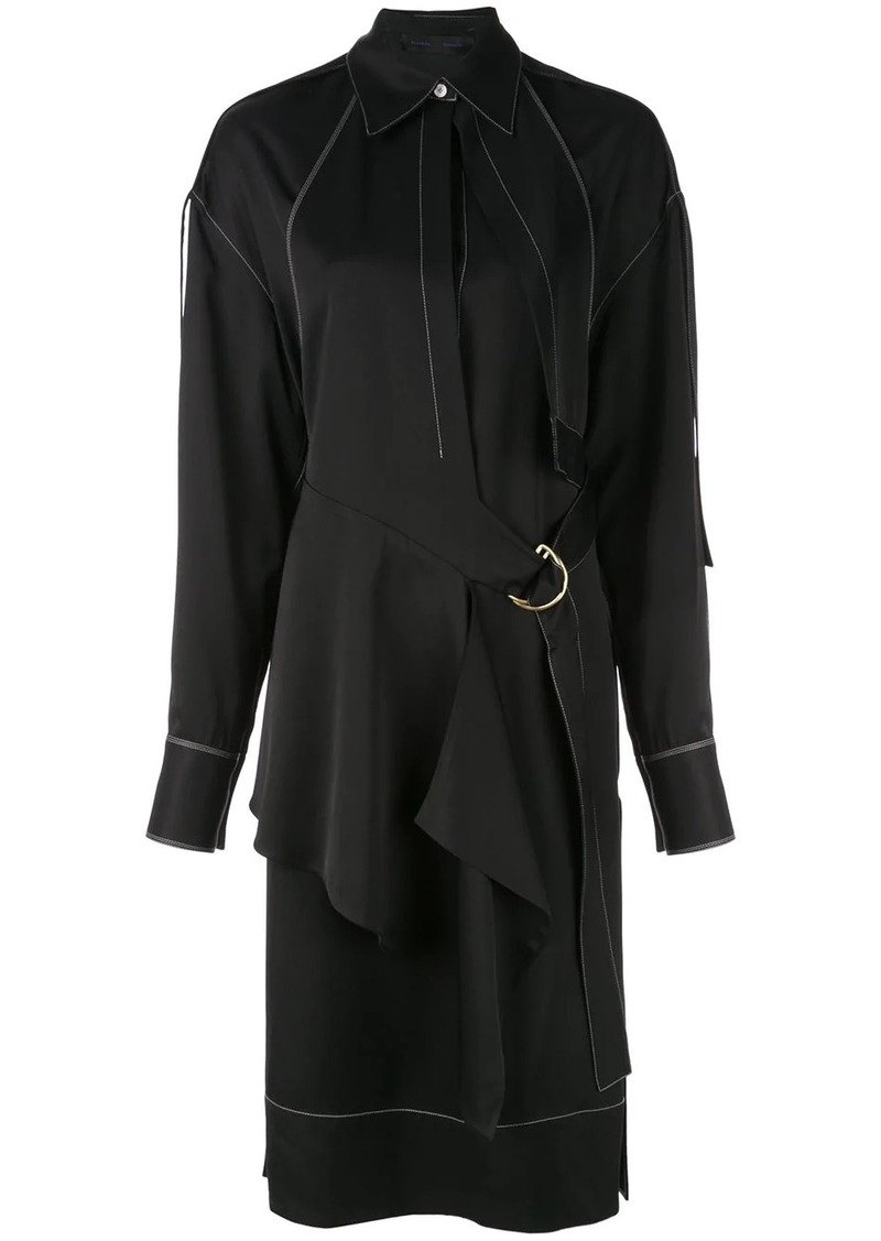 Proenza Schouler Top Stitched Shirt Dress
