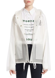 Proenza Schouler Transparent Rain Coat