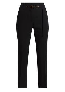 Proenza Schouler Tuxedo Suiting Belted Pants