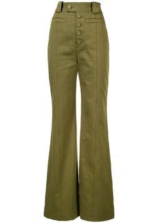 Proenza Schouler Twill High Waisted Pants