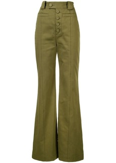 Proenza Schouler Twill High Waisted Pants