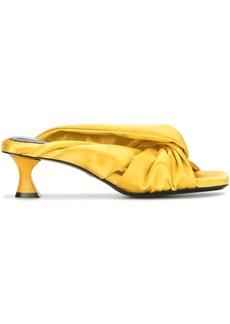 Proenza Schouler satin twisted 45mm sandals