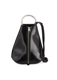 Proenza Schouler Vertical Zip Shiny Backpack