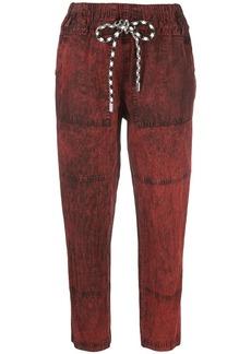 Proenza Schouler washed drawstring trousers