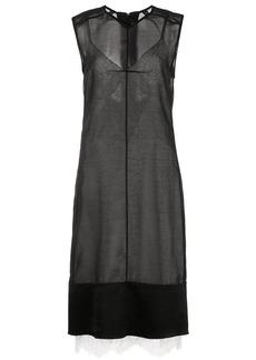 Proenza Schouler Washed Satin Sleeveless Dress