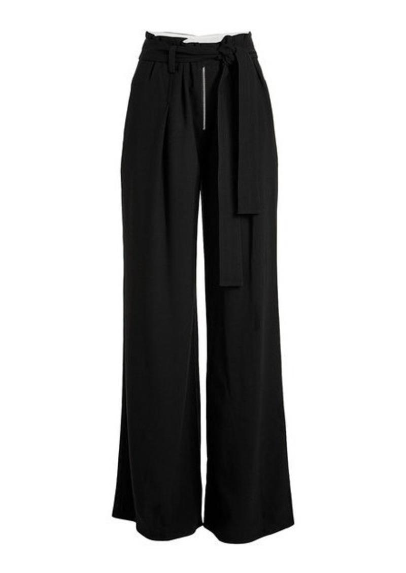 Proenza Schouler Wide-Leg Crepe Pants