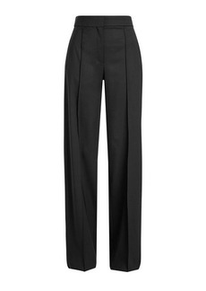 Proenza Schouler Wide Leg Wool Pants