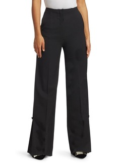 Proenza Schouler Wide-Leg Wool Pants