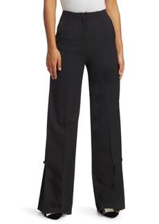 Proenza Schouler Wide-Leg Wool Pants