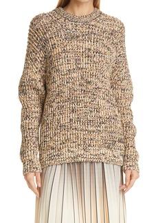 Women's Proenza Schouler White Label Mixed Yarn Knit Sweater
