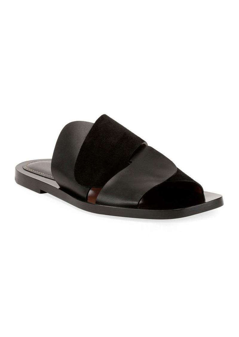 Proenza Schouler Woven Flat Slide Sandals