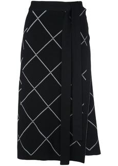 Proenza Schouler belted wrap skirt