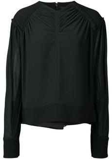 Proenza Schouler wrap-style blouse