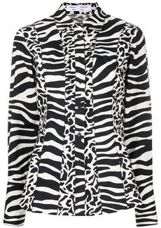 Proenza Schouler zebra print shirt
