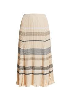 Proenza Schouler Zig-Zag Knit Midi Skirt