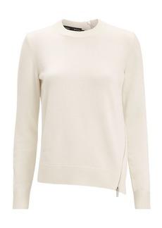Proenza Schouler Zip Detail Ivory Sweater