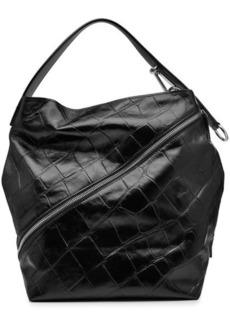 Proenza Schouler Zip Embossed Leather Tote