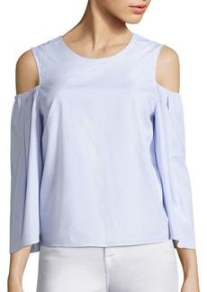 Prose & Poetry Milena Cold-Shoulder Wide Sleeve Top