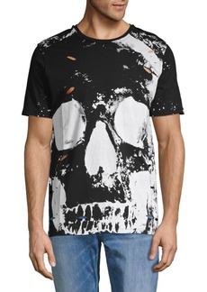 Prps Distressed Graphic Skull Cotton Tee