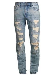 Prps Le Sabre Slim-Fit Destroyed Jeans
