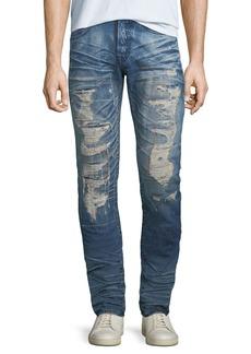 Prps Men's Le Sabre Ripped Repair Jeans