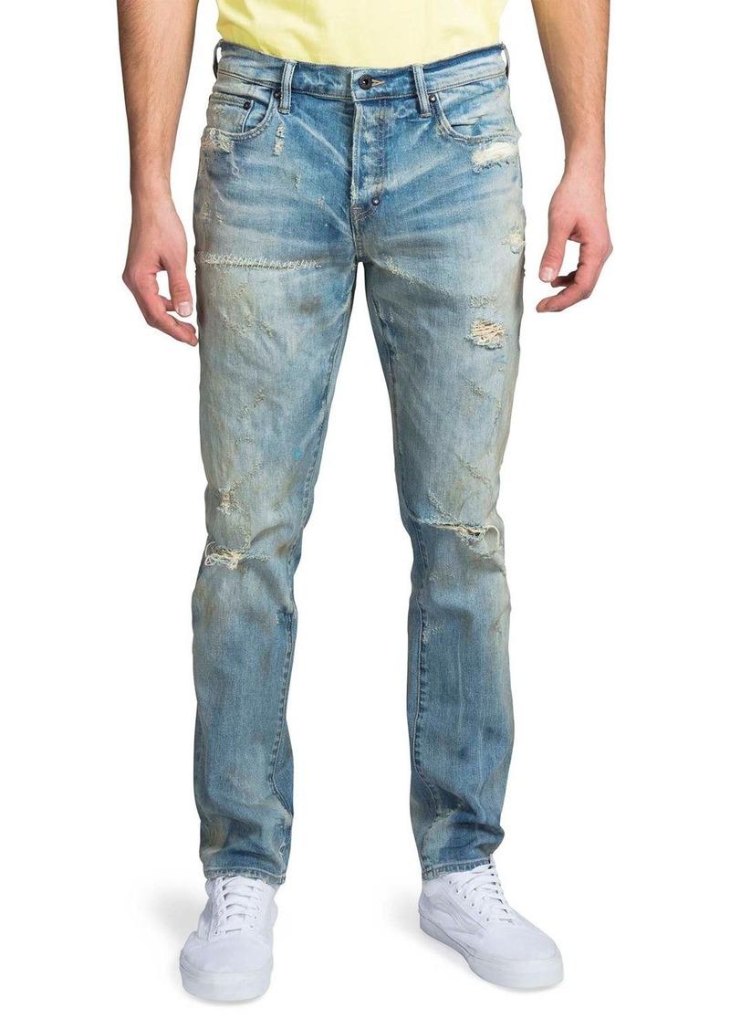 Prps Men's Le Sabre Slim Shredded Jeans