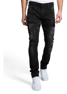 Prps Men's Skinny-Fit Sanding and Abrasion Denim Jeans