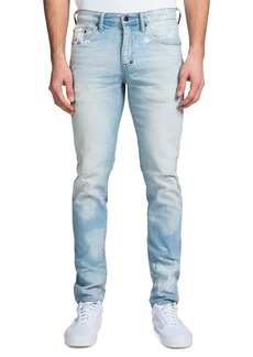 Prps Men's Windsor Fit Hand-Painted Light-Wash Denim Jeans