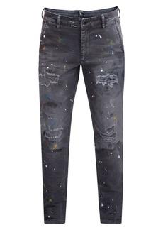 Prps Paint Destroyed Skinny Jeans