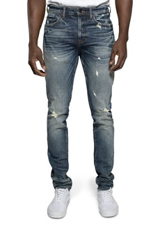PRPS Aggro Windsor Skinny Fit Stretch Jeans in Blue